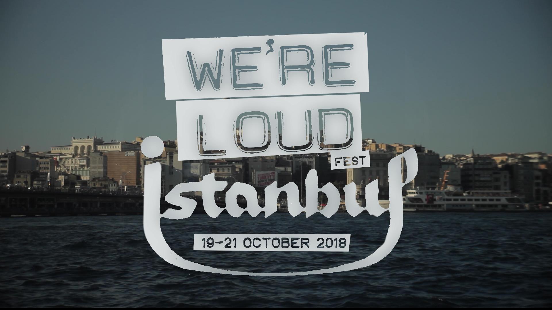 we'reloud istanbul 2018